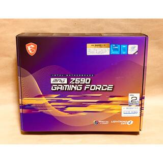 新品MSI MPG Z590 GAMING FORCE LGA1200 Z590(PCパーツ)