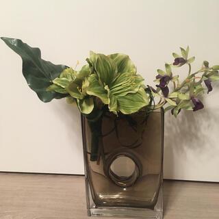 Francfranc - 造花 花瓶 フランフラン イケア インテリア オブジェ 置物