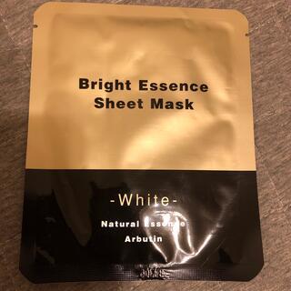 ブライトエッセンス シートマスク ホワイト(パック/フェイスマスク)