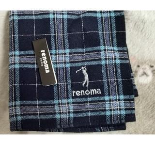 レノマ(RENOMA)のrenoma タオル地ハンカチ(ハンカチ/ポケットチーフ)
