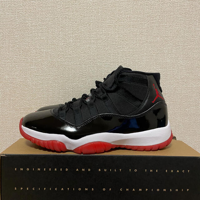 NIKE(ナイキ)の【超美品】NIKE AIRJORDAN 11 RETRO bred 27cm メンズの靴/シューズ(スニーカー)の商品写真