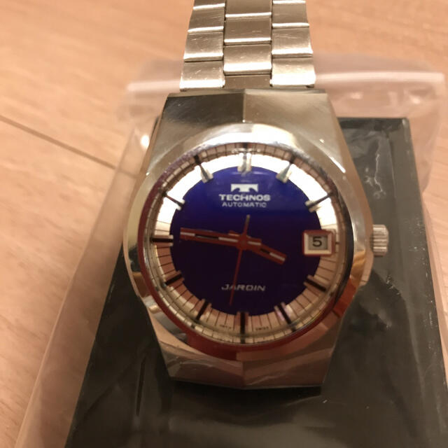 TECHNOS(テクノス)の最終処分価格 TECHNOS JARDIN 腕時計 メンズの時計(腕時計(アナログ))の商品写真