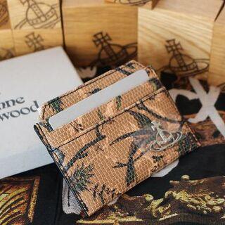 ヴィヴィアンウエストウッド(Vivienne Westwood)の新品 ヴィヴィアン 20/21AW KENTバード柄カードホルダー(パスケース/IDカードホルダー)