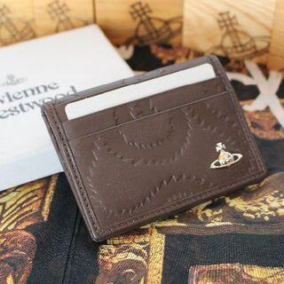 ヴィヴィアンウエストウッド(Vivienne Westwood)の新品 ヴィヴィアン BELFAST MAN CARD HOLDER(パスケース/IDカードホルダー)