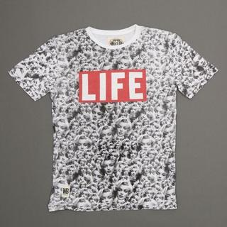 ウォーンバイ(Worn By)のLIFE モンロ-T/worn by (Tシャツ/カットソー(半袖/袖なし))