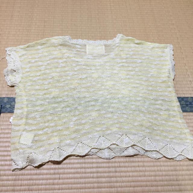 RETRO GIRL(レトロガール)の花柄サマーニット レディースのトップス(Tシャツ(半袖/袖なし))の商品写真