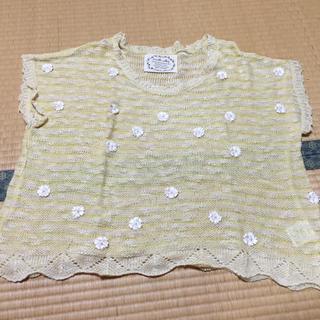 レトロガール(RETRO GIRL)の花柄サマーニット(Tシャツ(半袖/袖なし))