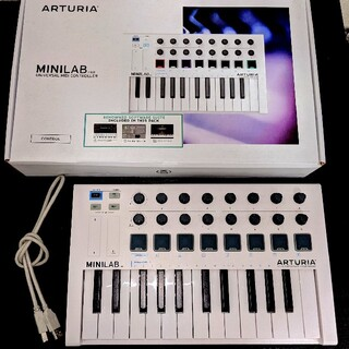 ARTURIA ( アートリア )MINILAB MK 2 MIDIキーボード(MIDIコントローラー)