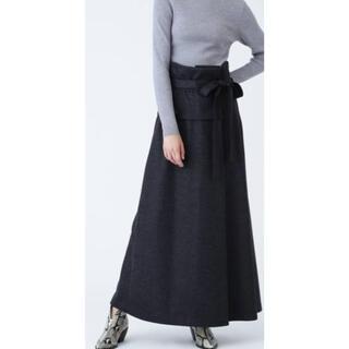 アドーア(ADORE)のアドーア ウールロングスカート 美品 エポカお好きな方にも(ロングスカート)