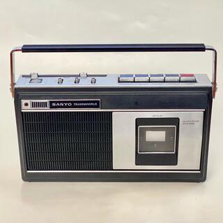 サンヨー(SANYO)のジャンク カセットテーププレーヤー(ポータブルプレーヤー)