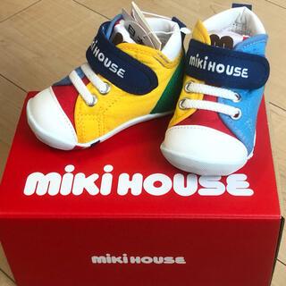 ミキハウス(mikihouse)のミキハウス シューズ 11.5cm ファーストシューズ(スニーカー)