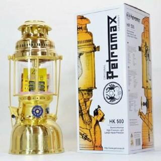 ペトロマックス(Petromax)の新品未使用 Petromax HK500 圧力式 灯油ランタン ブラス(ライト/ランタン)