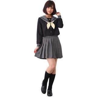 長袖セーラー服コスプレ 4点セット(衣装一式)
