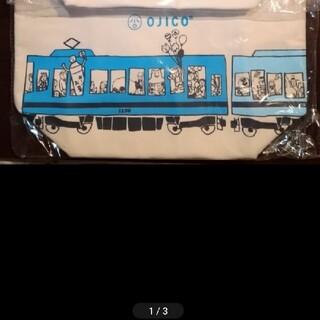 イトウエン(伊藤園)のOJICO ✕ 伊藤園 オリジナル 保冷 トートバッグ ペンギン 電車(弁当用品)