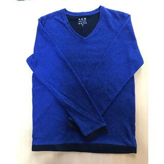 アダムエロぺ(Adam et Rope')のアダムエロペ 青色ロンT(Tシャツ/カットソー(七分/長袖))