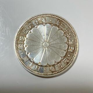 天皇陛下御在位61年記念硬貨 1万円銀貨  1枚(その他)