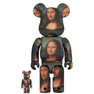 メディコムトイ(MEDICOM TOY)のBE@RBRICK Mona Lisa 100%&400% 新品未使用(その他)
