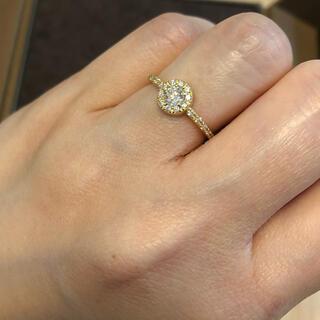ココシュニック(COCOSHNIK)のCOCOSHNIK K18 ダイヤモンドリング(リング(指輪))