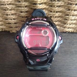 ベビージー(Baby-G)のカシオ CASIO BG-169R ブラック×ピンク(腕時計)