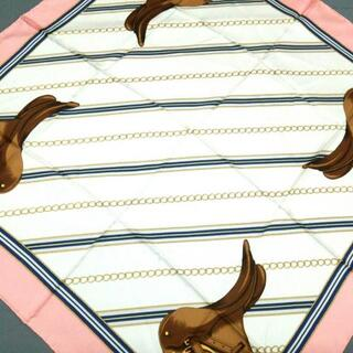 ロンシャン(LONGCHAMP)のLONGCHAMP(ロンシャン) スカーフ美品  -(バンダナ/スカーフ)