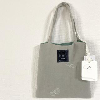 ミナペルホネン(mina perhonen)の#08 ミナペルホネン¥4,400choucho刺繍ミニバッグ新品 期間限定販売(ハンドバッグ)