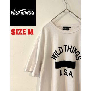 ワイルドシングス(WILDTHINGS)の【WildThings】半袖Tシャツ(Tシャツ/カットソー(半袖/袖なし))
