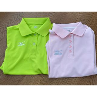 ミズノ(MIZUNO)のミズノ ポロシャツ レディースMサイズ バドミントン 2枚セット(ポロシャツ)