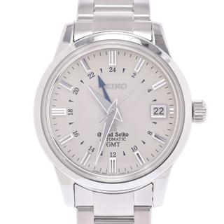 セイコー(SEIKO)のセイコー  グランドセイコー メカニカルGMT 裏スケ 腕時計(腕時計(アナログ))