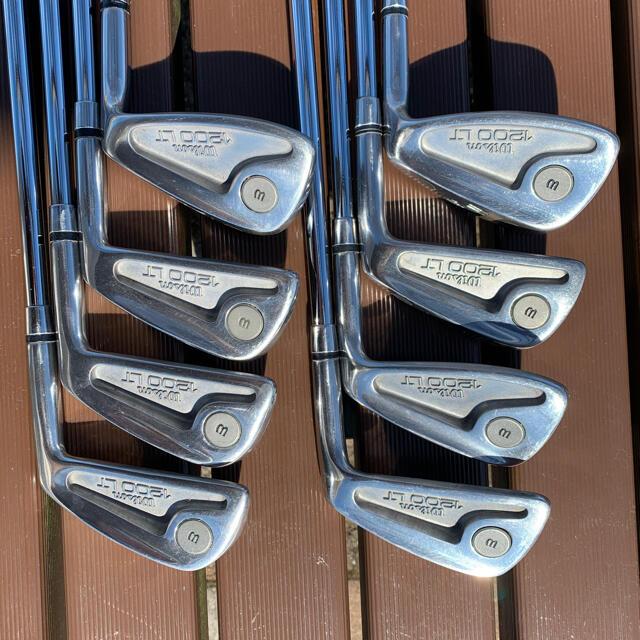wilson(ウィルソン)のWilson 1200LT 3I~9I .P 純正スチールシャフト 8本セット スポーツ/アウトドアのゴルフ(クラブ)の商品写真