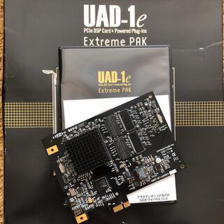 【美品】UAD-1e Extreme PAK DSPカード+プラグインセット(ソフトウェアプラグイン)