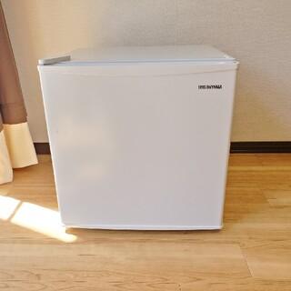 アイリスオーヤマ(アイリスオーヤマ)のIRIS OHYAMA ノンフロン冷蔵庫 KRSD-5AL-W(冷蔵庫)