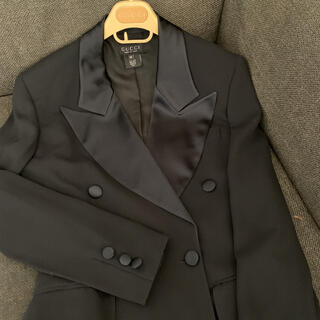 グッチ(Gucci)のグッチ フォーマル シルク タキシードセットアップ(スーツ)