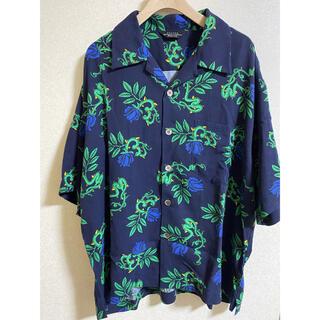 アンユーズド(UNUSED)のunused ローズオープンカラーシャツ(シャツ)