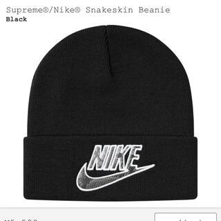 シュプリーム(Supreme)のsupreme NIKE  beanie(ニット帽/ビーニー)
