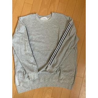スピンズ(SPINNS)のロンT グレー(Tシャツ(長袖/七分))