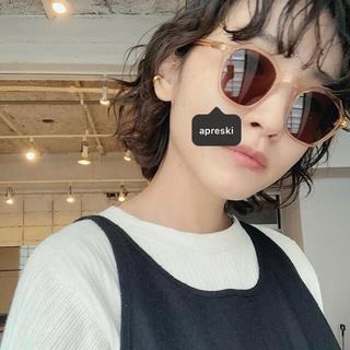ユナイテッドアローズ(UNITED ARROWS)のApresski Sunglasses  ピンク×ブラック(サングラス/メガネ)