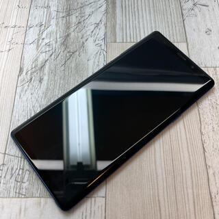 ギャラクシー(Galaxy)のサムスン Galaxy Note9 SCV40 au  オーシャンブルー(スマートフォン本体)