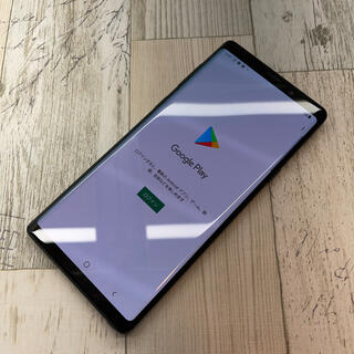 ギャラクシー(Galaxy)のサムスン Galaxy Note9 SCV40 au  ミッドナイトブラック(スマートフォン本体)
