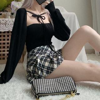 STYLENANDA - 【予約商品】《3カラー》ボレロ キャミ カーディガン 韓国ファッション 春服