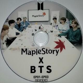 ボウダンショウネンダン(防弾少年団(BTS))のBTS mapleSTORY 日本語字幕(ミュージック)