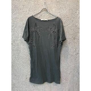 ステラマッカートニー(Stella McCartney)のStella McCartney ステラマッカートニー ヤシ刺繍Tシャツ(Tシャツ(半袖/袖なし))