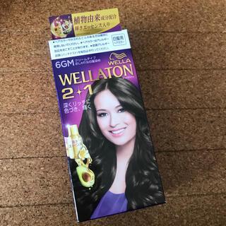 ウエラ(WELLA)のウエラトーン ツープラスワン クリームヘアカラーa 6GM(白髪染め)