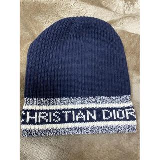 クリスチャンディオール(Christian Dior)のDIOR(ディオール)20AW ロゴニット帽 (ニット帽/ビーニー)