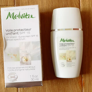 メルヴィータ(Melvita)のメルヴィータ ネクターブライト UVシールド 日焼け止め(日焼け止め/サンオイル)