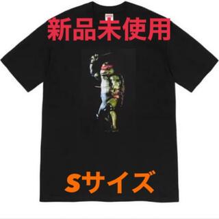 シュプリーム(Supreme)のシュプリーム タートルズ ラファエルTee 黒S(Tシャツ/カットソー(半袖/袖なし))