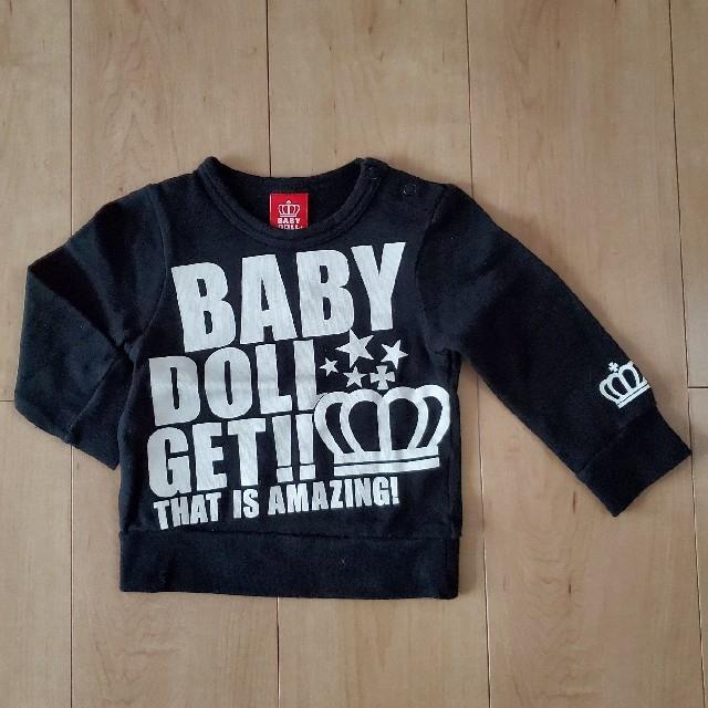 BABYDOLL(ベビードール)のBABYDOLL トレーナー 80 キッズ/ベビー/マタニティのベビー服(~85cm)(トレーナー)の商品写真