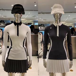 デサント(DESCENTE)のDESCENTE golf デサント ゴルフ 韓国 トップス スカート(ウエア)