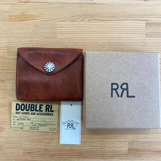 ダブルアールエル(RRL)のRRL 2021モデル 新品未使用レザーコンチョウォレット(折り財布)