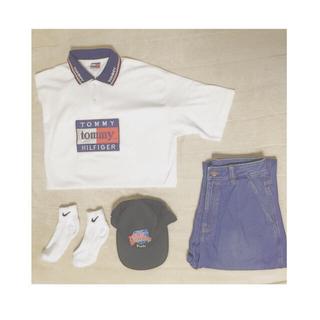 トミーヒルフィガー(TOMMY HILFIGER)のtommy ビックポロシャツ(Tシャツ/カットソー(半袖/袖なし))