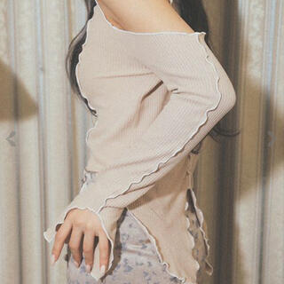 バブルス(Bubbles)のmelt the lady メロウフリルトップス(Tシャツ(長袖/七分))